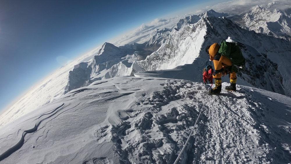 alpinistas everest