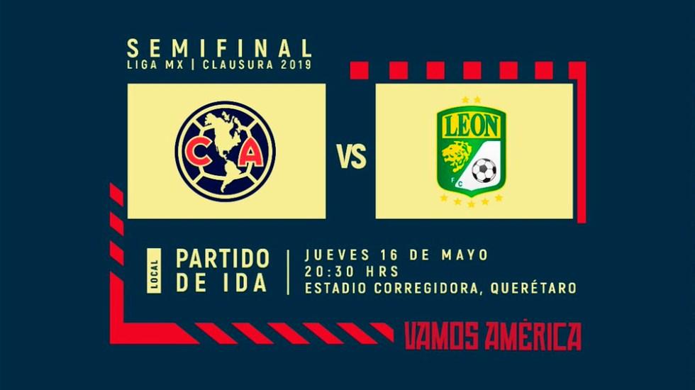 ¿Cómo solicitar reembolso del América vs León? - Foto de @ClubAmerica