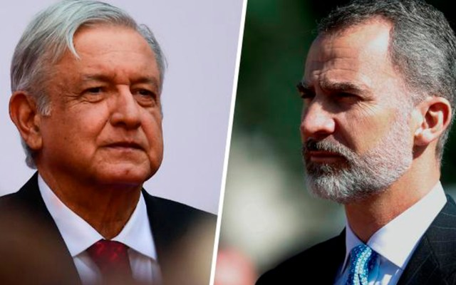 López Obrador revelará hasta junio carta que envió al rey Felipe Vi de España - Foto de emol.
