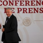 Conferencia de AMLO (22-05-2019) - Andrés Manuel López Obrador. Foto de Notimex- Jessica Espinosa
