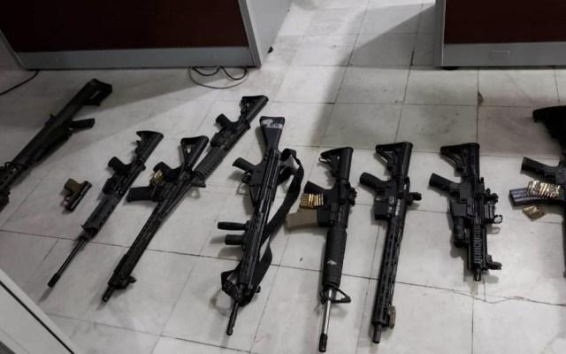 Vinculan a proceso a dos por arsenal incautado en Coahuila - Arsenal Coahuila vinculados a proceso