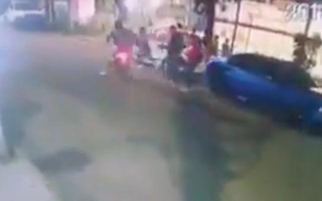 #Video Sujetos armados asaltan a jóvenes en la GAM - Captura de pantalla