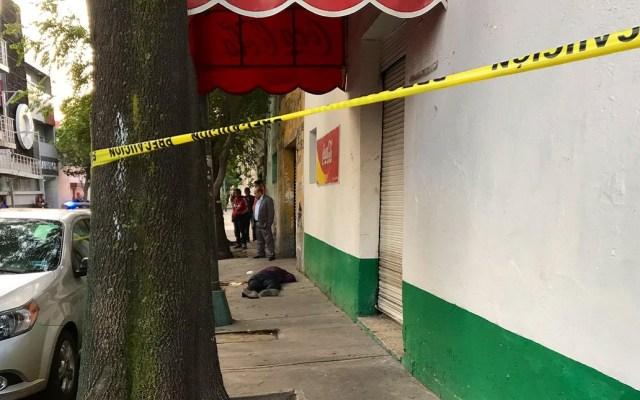 Asesinan a agente ministerial en la Cuauhtémoc - Asesinato en la alcaldía Cuauhtémoc. Foto de @israellorenzana