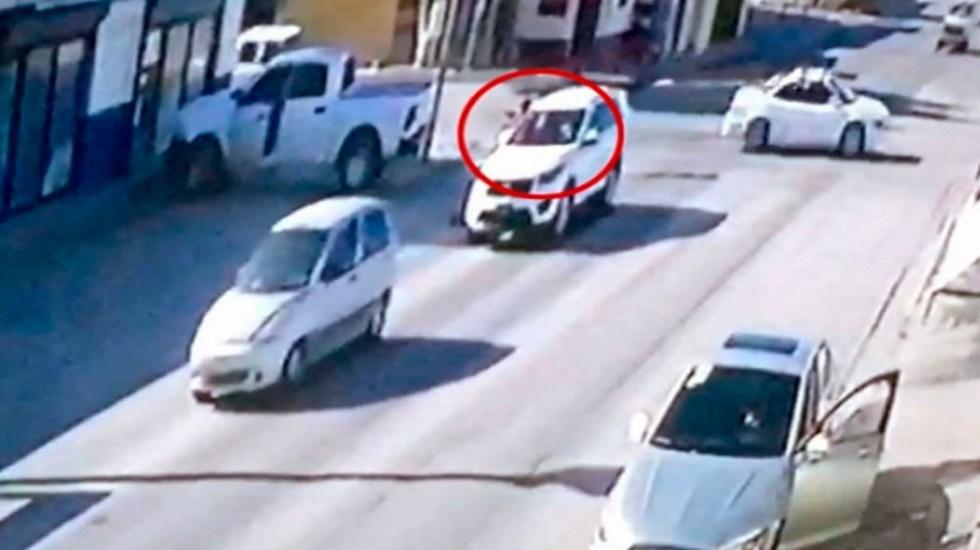 #Video Asesinan a mando policiaco en Sonora - asesinato mando policiaco sonora
