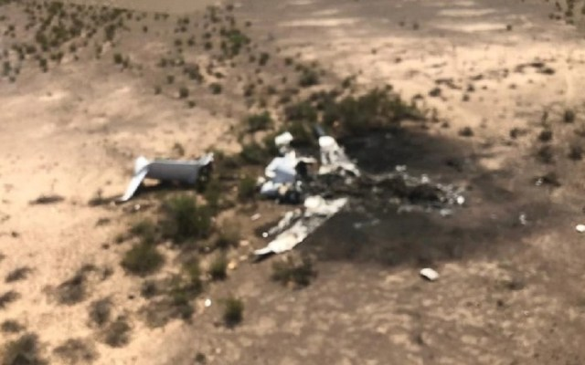 Así habrían hallado al avión 'desaparecido'. Foto de Víctor Manuel Villareal