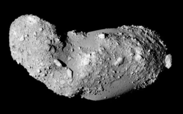 Descubren componentes de agua en asteroide - asteroide
