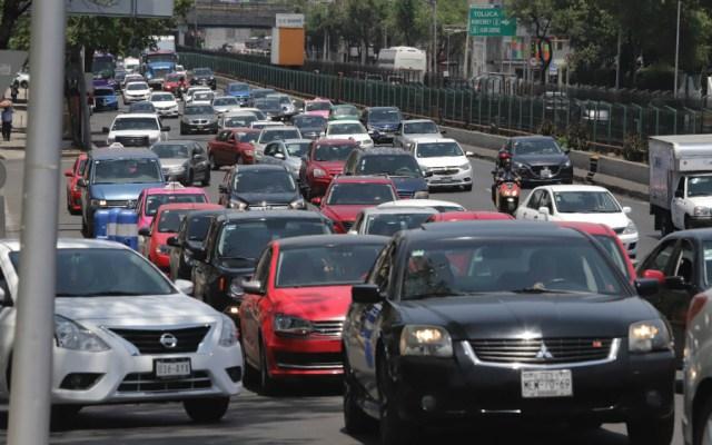 Habitantes de la CDMX pierden al año casi 147 horas productivas en el tránsito - Foto de Notimex