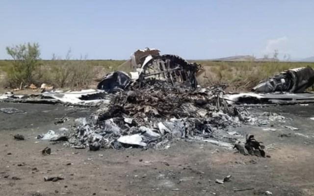 No hay cuerpos que rescatar: Riquelme sobre accidente aéreo en Coahuila - Foto de Protección Civil de Ocampo, Coahuila