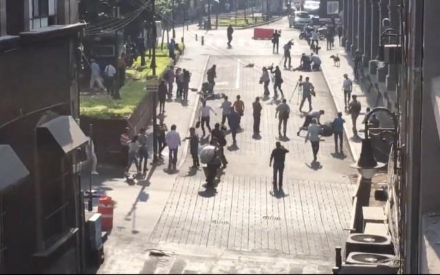 López Obrador condena ataque armado en Cuernavaca - balacera en cuernavaca deja al menos tres heridos