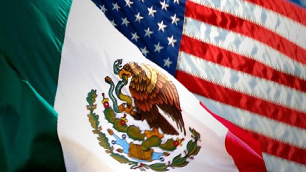 Marcelo Ebrard conversa con el secretario Blinken sobre cooperación México-EE.UU. - Banderas México-EE.UU. diálogo