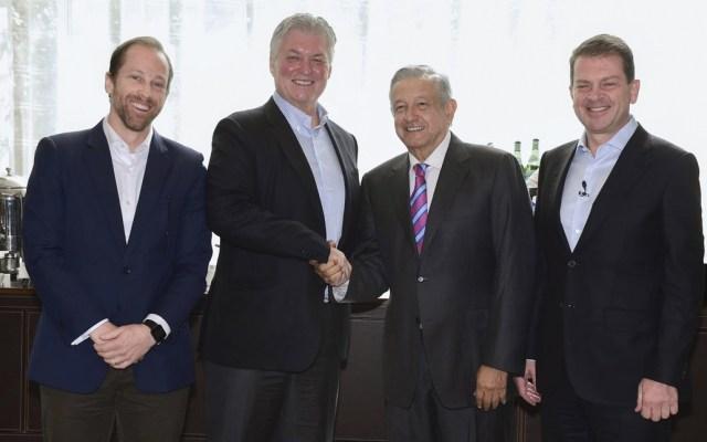 Bank of America ofrece inversión importante en México a AMLO - Foto de Twitter Andrés Manuel López Obrador