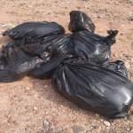 Dejan bolsas con restos humanos en carretera de Guerrero - Bolsas Guerrero restos humanos