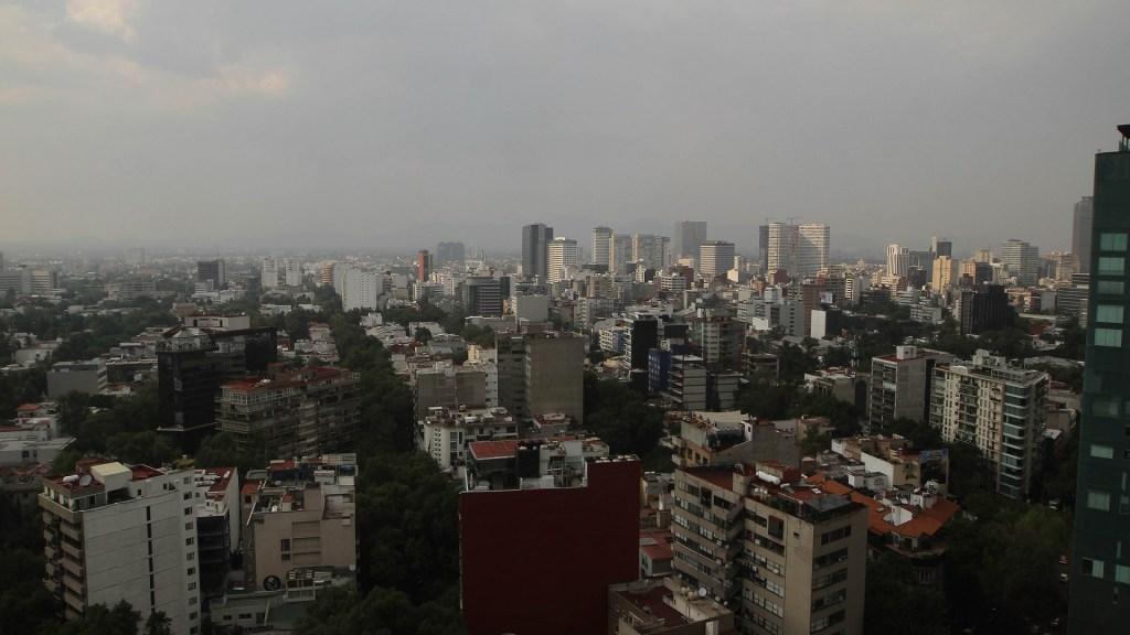 Gobierno capitalino mantendrá programa de contingencias ambientales - Calidad del aire en el Valle de México. Foto de Notimex