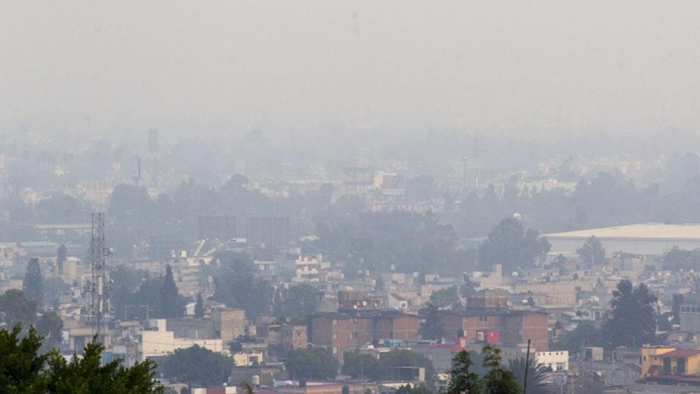Mala calidad del aire en noreste y sureste del Valle de México - calidad del aire