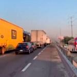 Falla en casetade San Martín Texmelucan provoca caos - caos caseta puebla