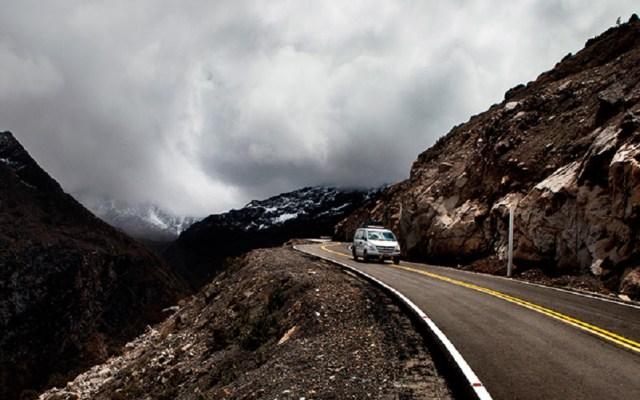 Odebrecht paga 65 millones de soles a MP de Perú - Carretera Carhuaz-Chacas-San Luis de Perú. Foto de Odebrecht