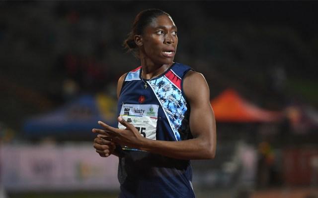 CasterSemenya debará reducir su testosterona para poder competir - Foto de AFP