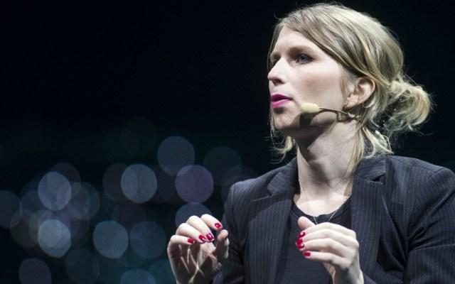 Chelsea Manning sale de prisión por caso de desacato en EE.UU. - Foto de AFP