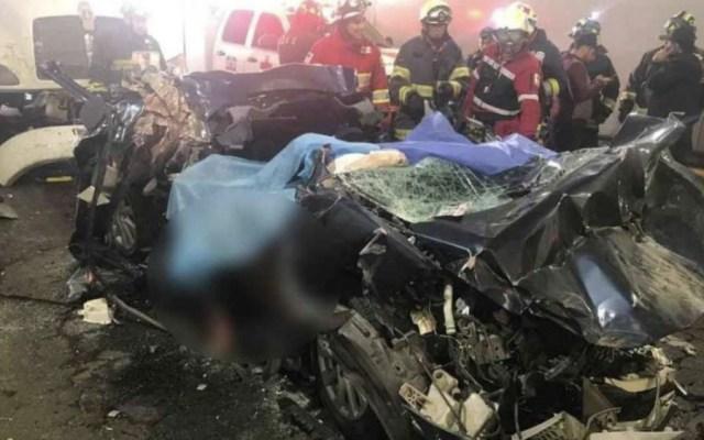 Ya son cinco los muertos por choque en Constituyentes - Foto de Foro TV
