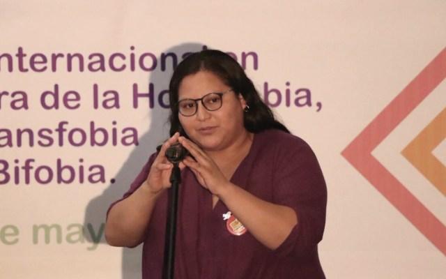 """""""No tengo miedo"""": Citlalli Hernández tras explosión - Foto de Twitter Citlalli Hernández"""