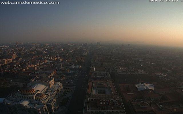 Incendios y sistema de alta presión, razón de mala calidad del aire: CAMe - Foto de @webcamsdemexico