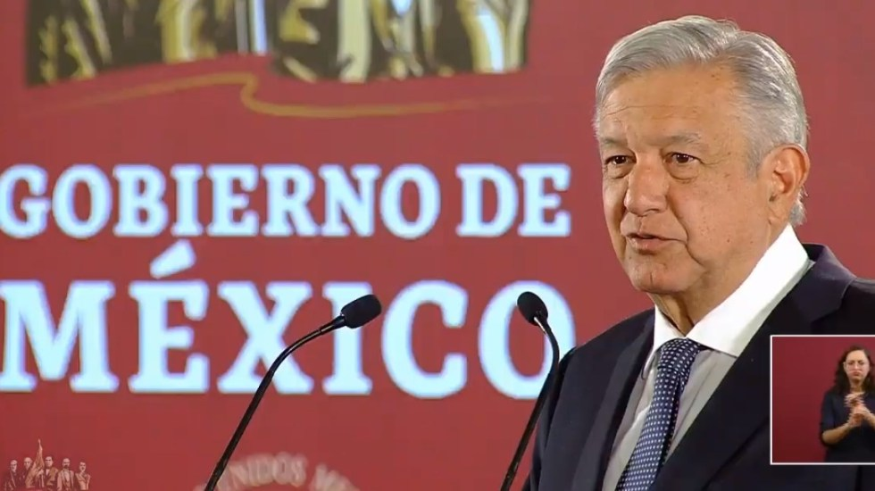 AMLO plantea programa para atender necesidades de escuelas - Conferencia AMLO 28 de mayo. Captura de pantalla