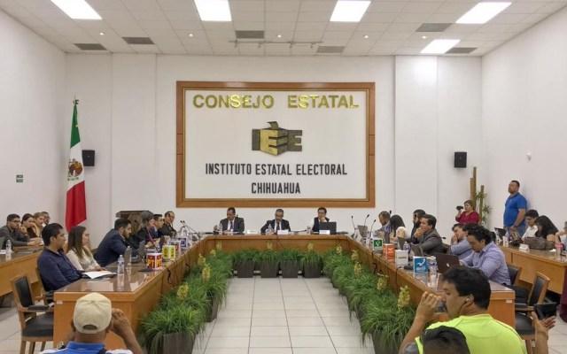 Declaran improcedente solicitud de revocación de mandato en Chihuahua - Consejo Estatal del Instituto Electoral de Chihuahua. Foto de @IEEChihuahua