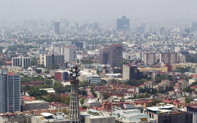 Calidad regular del aire predomina en el Valle de México - Los niveles de contaminación en la CDMX no son altos este domingo. Foto de Notimex
