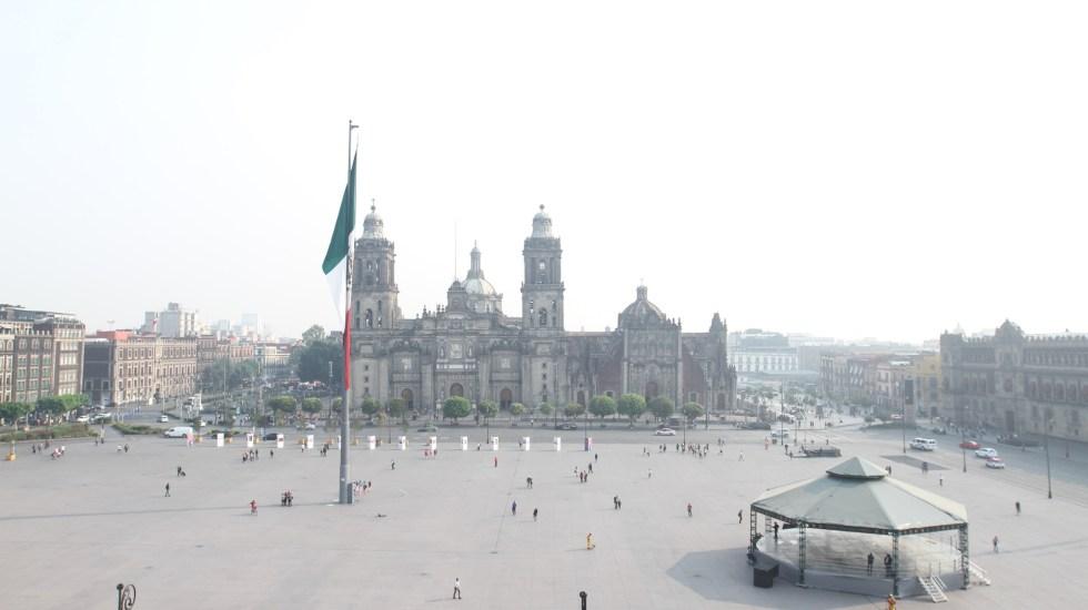 Mantienen contingencia ambiental atmosférica en el Valle de México - Continúa la mala calidad del aire en el Valle de México con un máximo de 147 puntos de partículas menores a 2.5 micrómetros (PM2.5) en la alcaldía Iztapalapa, por lo que se mantiene la contingencia atmosférica extraordinaria. Foto de Notimex-Óscar Ramírez.-