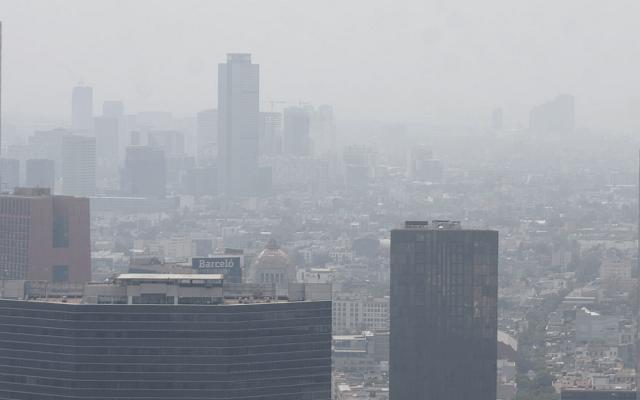 Persiste Mala calidad del aire en el Valle de México - contingencia atmosférica