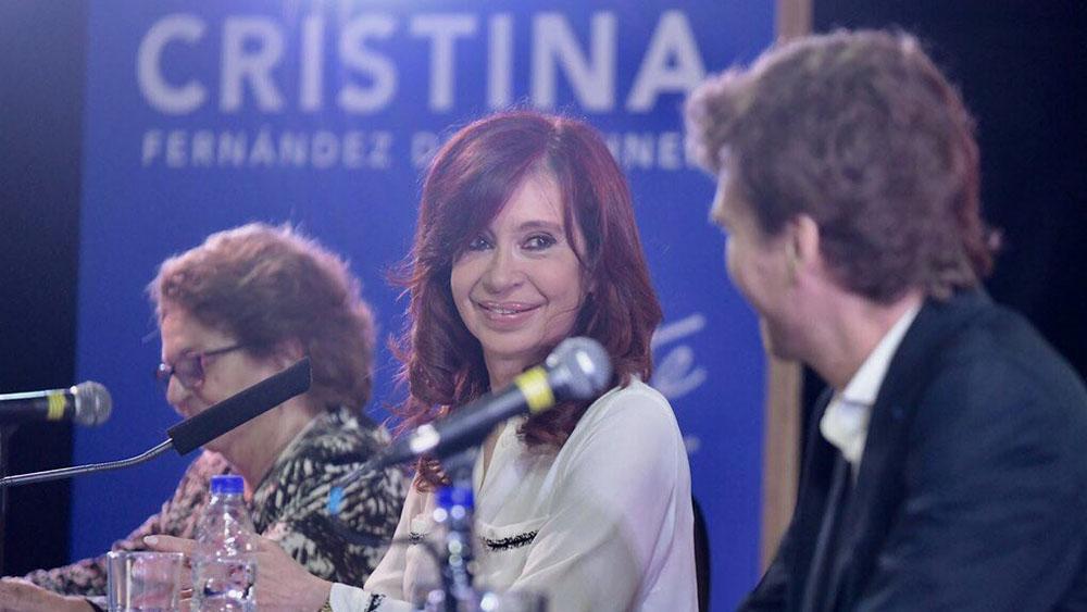 Kirchner se postula como candidata a vicepresidenta de Argentina. Noticias en tiempo real