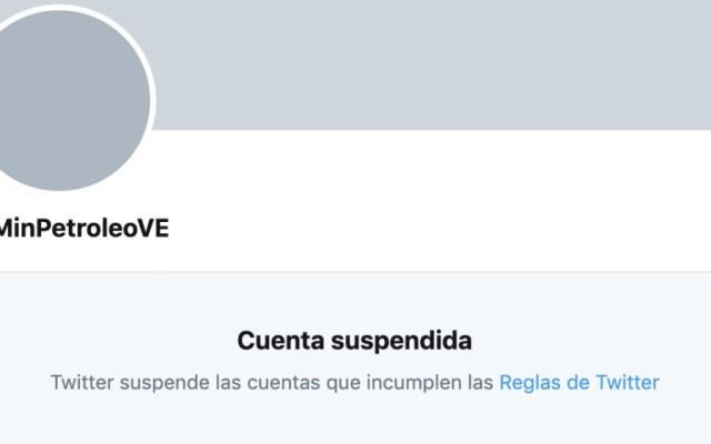 Twitter cancela cuentas de dependencias y medios de Venezuela - Foto de Twitter