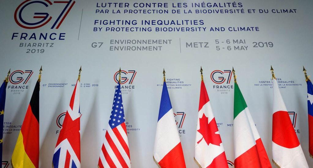 Se reúne G7 del Medioambiente para pedir medidas concretas - Cumbre a favor del medioambiente del G7. Foto de @EmmWargon