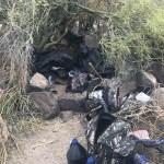 Desmantelan campamento clandestino con 110 kilos de mariguana en Sonora - Foto de Fiscalía Sonora