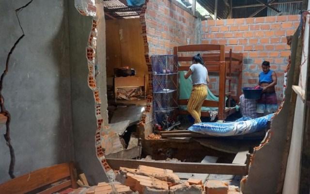Aumenta a dos cifra de muertos por temblor en Perú - Derivado del temblor de magnitud 8 en Perú, 284 casas resultaron dañadas. Foto de AFP / Getty Images