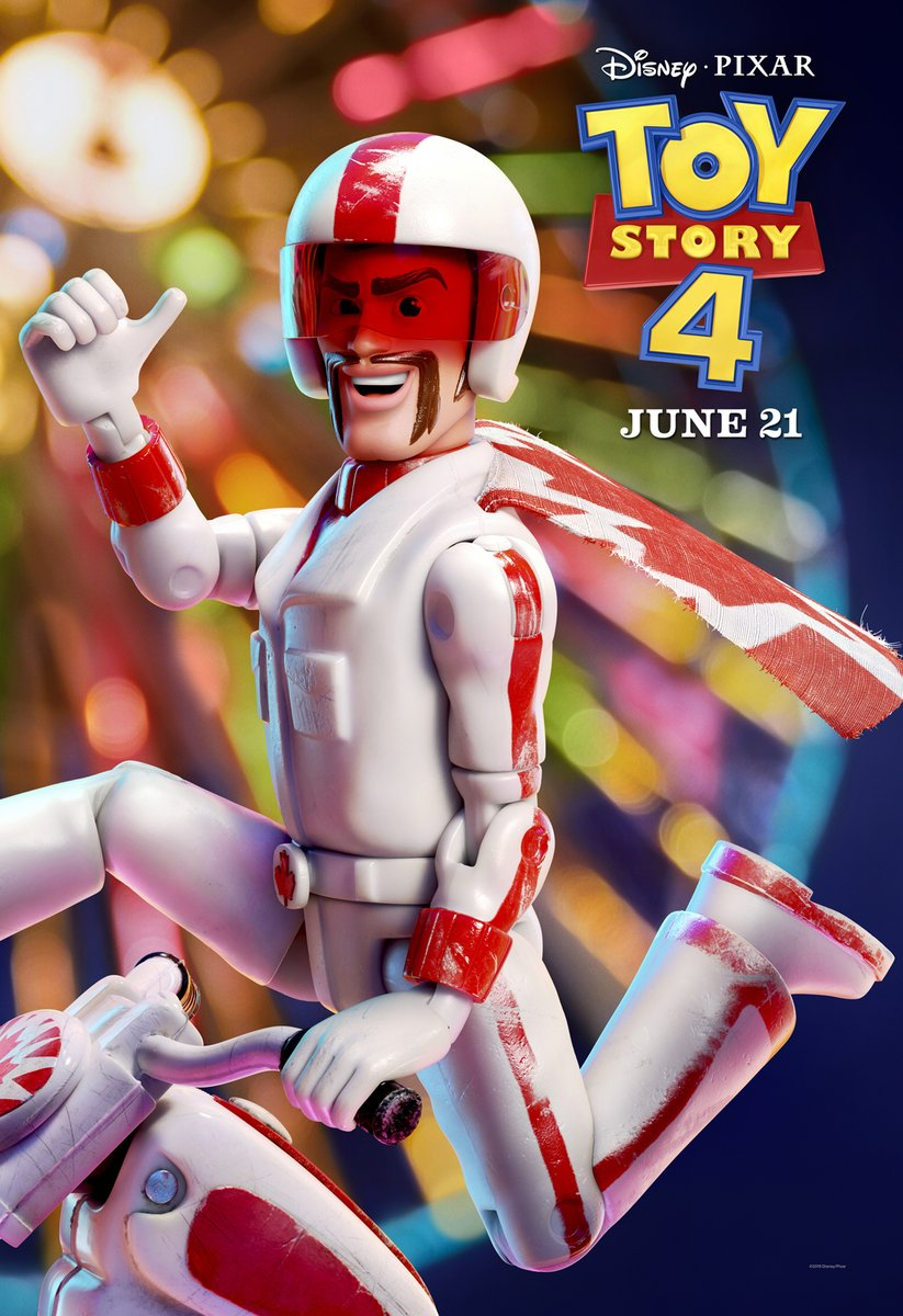 Duke Caboom, el nuevo personaje de Toy Story 4. Foto de @toystory