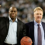 'Magic' Johnson justifica renuncia en los Lakers a discrepancias con gerente del equipo - Foto de AFP