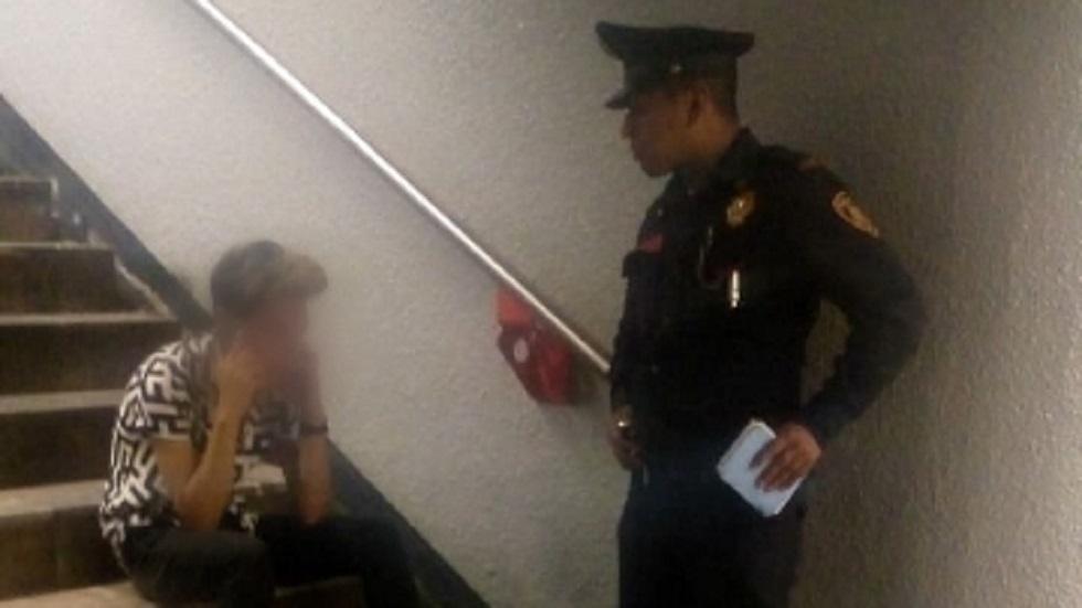 El joven manifestó que quería suicidarse por problemas familiares. Foto del Metro