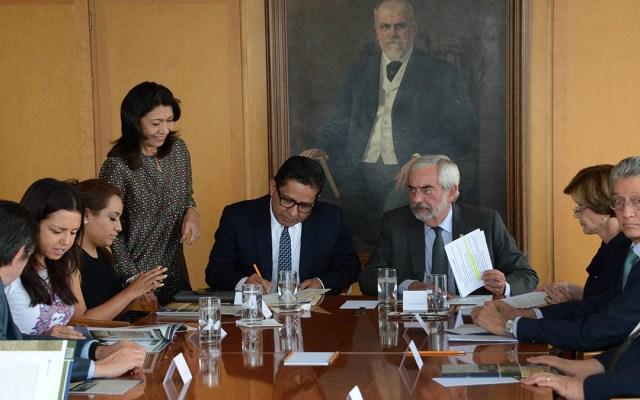 UNAM entrega su Cuenta Anual a la Cámara de Diputados - entrega cuenta anual unam