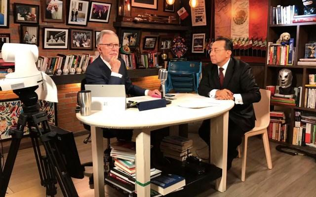 No hay corrupción en jueces y magistrados: presidente del TSJ capitalino - entrevista presidente TSJ capitalino