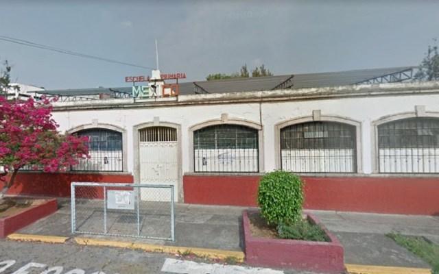 Asaltan a alumnos dentro de primaria en Morelia - Escuela Primaria México, Morelia. Foto de Google Maps