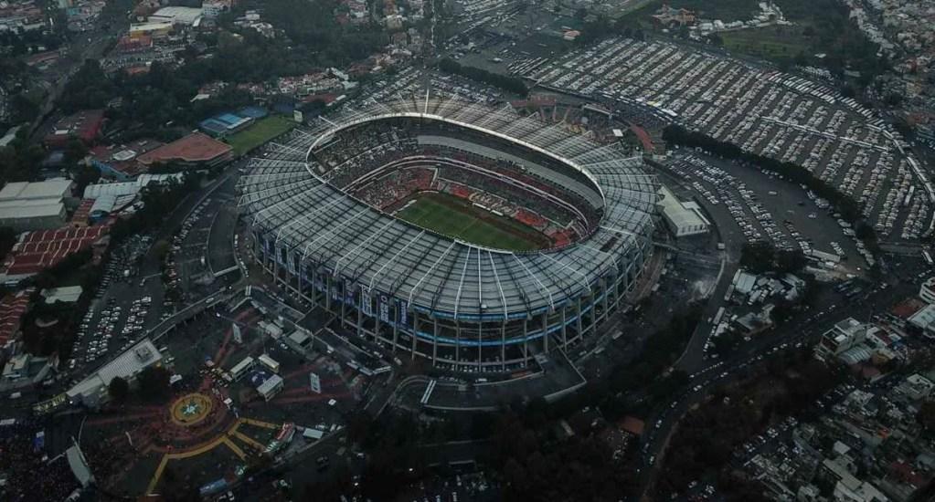 Aún no es momento de abrir estadios en la ciudad, asegura Claudia Sheinbaum - Estadio Azteca