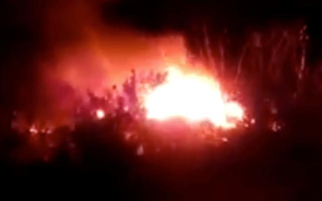 Flamazo por toma clandestina en Coahuila; descartan muertos  o heridos - Explosión en Coahuila
