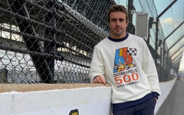 Fernando Alonso queda fuera de las 500 Millas de Indianápolis - Fernando Alonso un día antes de competir rumbo a las 500 millas de Indianápolis. Foto de @fernandoalo_oficial