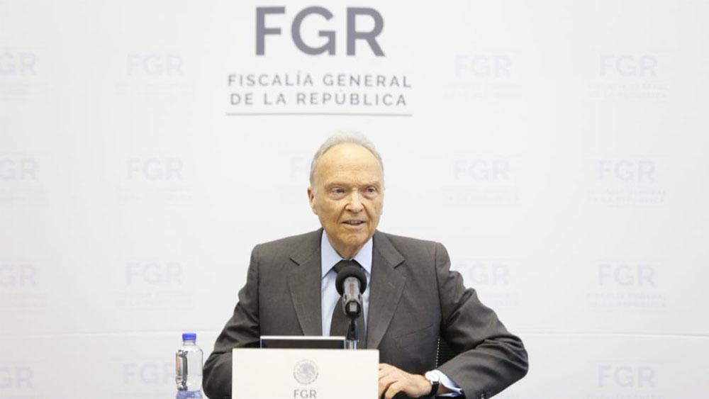 Informe cuestiona autonomía de la FGR a un año de su creación - Gertz Manero fgr
