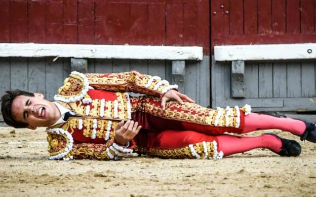 Grave cornada a torero Gonzalo Caballero en Las Ventas - Foto de Las Ventas