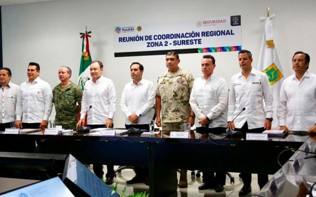 Acuerdan acciones sobre Guardia Nacional en el sureste del país - Guardia Nacional sureste del país