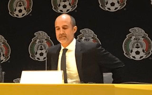 Guillermo Cantú dejará la FMF después de la Copa Oro - Foto de FMF