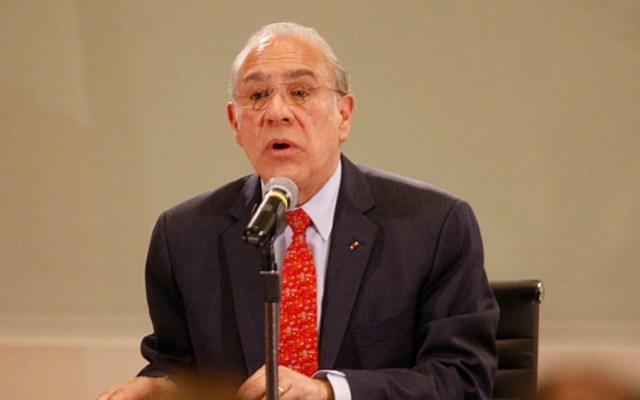Urge aplicar reformas estructurales ante incertidumbre económica: OCDE - gurría