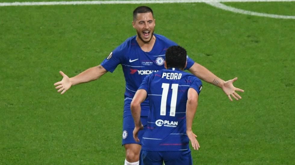 Chelsea es campeón de la Europa League - Foto de AFP